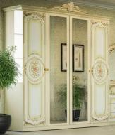 Спальня Кармен новая Люкс Шкаф 4Д